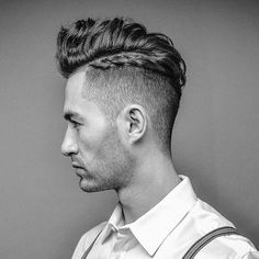 Goodbye man bun, hello man braid?! What do you think of this trend, shown here by #barber @MattyConrad? #AndisUK