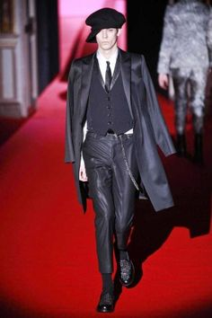 Rynshu Fall Winter Menswear 2013 Paris