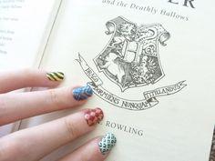 Hogwarts House Sigil Nails