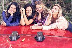 Scarlet Gruber, Ana Lorena Sanchez, Kimberly Dos Ramos, y Isabella Castillo #tierradereyes Tierra de Reyes