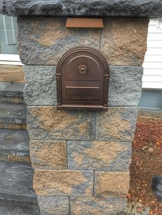 Cambridge Paver Light and Mailbox Combo | .stonecreationsoflongisland.net (631) 678 & How to Lay Blocks for a Stone Column Mailbox | Pinterest | Stone ...
