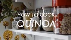 cocinando quinoa, que buena comunicación