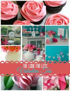 Love the way this pretty tea party is styled? It's perfect for a Valentines's Day Tea or Spring Tea with your friends. Get ideas for how you can pull this look together for less at Infarrantly Creative. Easy Diy Crafts, Diy Craft Projects, Crafts For Kids, Valentine's Day Quotes, Valentines Day Party, Valentine Day Crafts, Valentine Treats, Funny Valentine, Valentine History