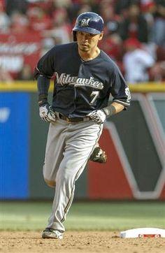 Norichika Aoki (Milwaukee Brewers)