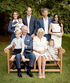 See Meghan Markle and Prince George Crack Up in the Most Candid Royal Family Photo Ever
