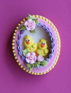 Julia M Usher, decorated Easter cookies, panorama Easter eggs.  This is a must do for easter