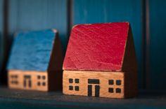little wooden house blocks