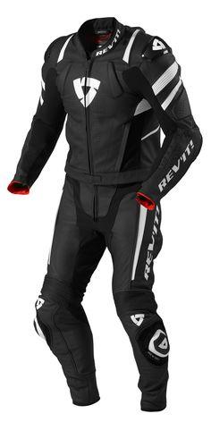 Men's Rev'it Stellar Motorbike Racing Leather 2 Piece Suit, All Sizes & Colors Motorcycle Helmet Design, Motorcycle Equipment, Motorcycle Suit, Motorcycle Leather, Motorcycle Clothes, Motorsport Clothing, Best Motorbike, Bike Suit, Motorbike Jackets