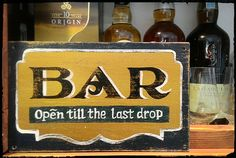 Bar, Бар The Last Drop, Drink Signs, Interiors, Bar, The Originals, Drinks, Decor, Drinking, Beverages