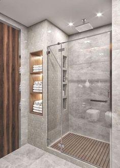 Bathroom Design Luxury, Bathroom Layout, Modern Bathroom Design, Bathroom Shelves, Bathroom Organization, Bathroom Storage, Bathroom Mirrors, Contemporary Bathrooms, Washroom