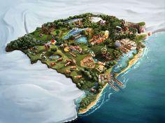 Level Design - Map RS by Estúdio Romeu & Julieta