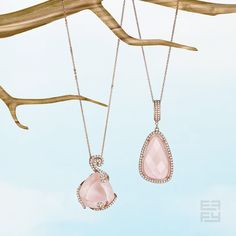 Spring forward in blushing rose quartz. #daylightsavings Styles available by special order 1.877.ASK.EFFY