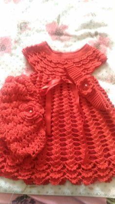 Best 12 Crochet Cotton Baby Dress Hat pink and white by GoingCrafty – SkillOfKing. Knitting Patterns Free Dog, Free Baby Patterns, Knitting For Kids, Crochet For Kids, Baby Knitting, Crochet Baby Dress Pattern, Baby Girl Crochet, Crochet Baby Clothes, Knit Crochet