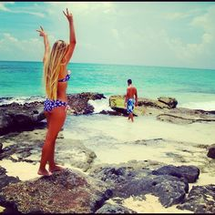 Allie DeBerry - she just became my hair idol......I want that length.