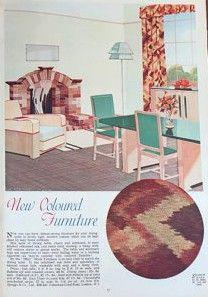 370 best 1930\'s Home images on Pinterest in 2018   Vintage journals ...