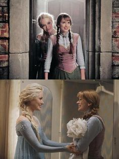 "Anna and Elsa in stills from first episode of season 4 - ""A Tale of Two Sisters""... #OUAT"