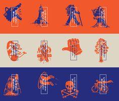 New Logo and Identity for Tasmania's West Coast by For the People Nuevo logotipo e identidad para la costa oeste de Tasmania por For the People City Branding, Event Branding, Restaurant Identity, Logo Branding, Brand Identity Design, Graphic Design Branding, Graphic Design Illustration, Logo Design, Hipster Graphic Design