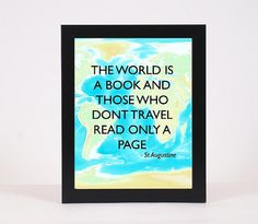 Inspiring Travel Poster Instant download by OMyGlam on Etsy