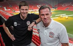 Steven Gerrard and Jamie Carragher have revealed who will be present in their upcoming charity match, with Liverpool and footballing legends set to star!