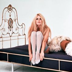 there's something incredible about this picture, but i can't quite put my finger on it. the hair? (brigitte bardot)