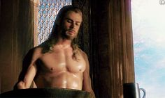 Every damn time he was shirtless. | 32 Times Chris Hemsworth Made You Pregnant Without Even Touching You