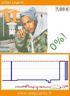Urban Legend (CD). Réduction de 65%! Prix actuel 7,00 €, l'ancien prix était de 20,25 €. http://www.adquisitio.fr/atlantic/urban-legend
