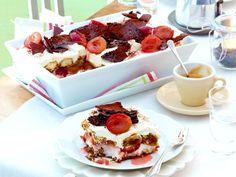 Dessert mit Pflaumen - süße Ideen mit Saisonobst - pflaumen-amaretto-tiramisu  Rezept