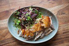 Bundarra Berkshire pork with shaved fennel & apple slaw @ Junction // www.junctionmoama.com.au