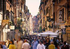 Via Condotti Roma ✈