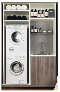 Compact laundry