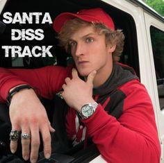 Logan paul Santa diss track I love this ❤️ I want him back
