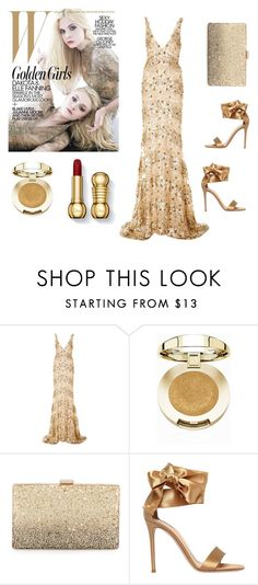 """A bit of glamour"" by ivanazb ❤ liked on Polyvore featuring Naeem Khan, Milani, Neiman Marcus and Gianvito Rossi"