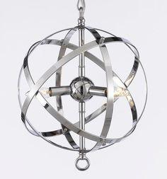 Foucault's Orb Chandelier Chandeliers Lighting