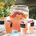 Raspberry Beer Cocktail Recipe | MyRecipes.com