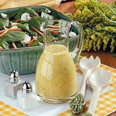 Spinach Salad Dressing Recipe | Key Ingredient