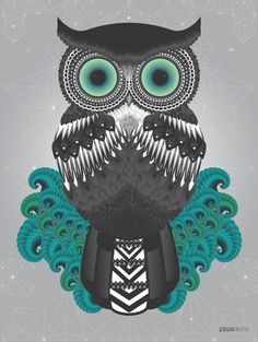 Owl Project by Susana Richter, via Behance