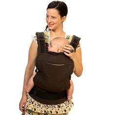 Liliputi® Soft Baby Carrier - Classic line - Espresso Babywearing  More!   #liliputi #liliputistyle #babywearing #babycarrier #softbabycarrier