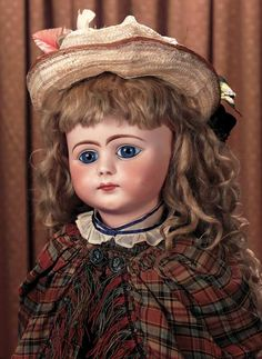 Very Rare French Bisque Bebe,Figure E,by Jules Steiner with Wonderful Expression
