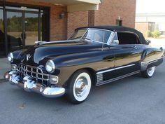 1948 Cadillac Series 62..Re-pin brought to you by agents of #Carinsurance at #HouseofInsurance in Eugene, Oregon