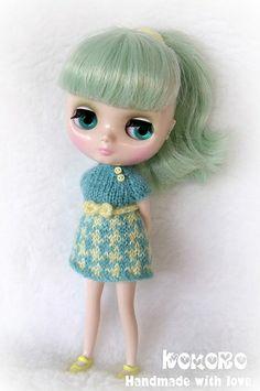 Blythe Middie knit dress