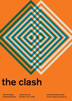 The Clash SWISSTED Vintage Rock Posters Remixed and Reimagined by Mike Joyce