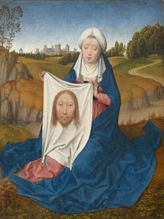 Interesting facts about this more than 540 years old artwork The classic art piece of art was made by Hans Memling in 1475. It forms part of the digital collection of National Gallery of Art. The work of art, which belongs to the public domain is included with courtesy of National Gallery of Art, Washington.Creditline of the artwork: . What is more, the alignment of the digital reproduction is in portrait format with a ratio of 3 : 4, meaning that the length is 25% shorter than the width… The Veronicas, Veil Of Veronica, St Veronica, The Veil, Jan Van Eyck, Verona, Robert Campin, Catholic Relics, Catholic Saints