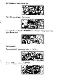 Post with 13 votes and 3725 views. Shared by Mad Max Fury Road - Original Script / Storyboard excerpts The Road Warriors, Mad Max Fury Road, Spray Can, Storyboard, Trending Memes, Script, Comic, Album, The Originals
