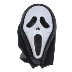 Funny Halloween Mask Movie Series Scary Masks Cosplay Masquerade Prop Full Face Anonymous Masque