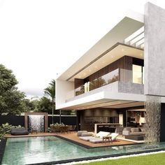 awesome Exterior Decor Ideas Mesquita Residence by Rafael Fernandes Architect . # Thank you @ archidesignhome forRead More Modern Exterior Design