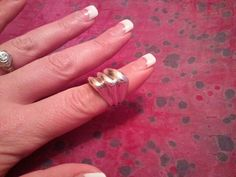 Vintage Sterling Silver Ring 925 Ladies by MyYiayiaHadThat on Etsy, $25.00