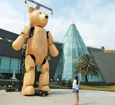 高さ9メートル、世界最大のテディベア=韓国・済州