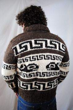 02a088b5235996 Cowichan Sweater, Sweater Cardigan, Men Sweater, Knitting Wool, Sweater  Knitting Patterns,