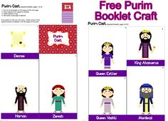 FREE Purim Booklet