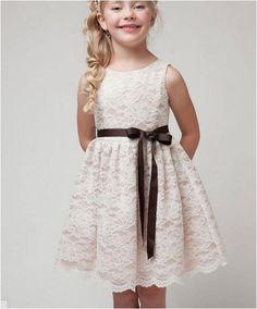 Vestido Infantil em renda Fascinação Frete Grátis